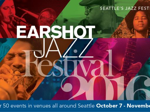 2016 Earshot Jazz Festival Schedule