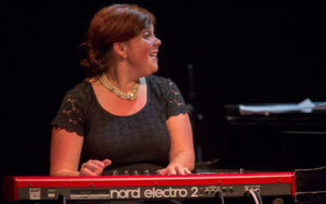 Resident Artist Dawn Clement performs at Earshot Jazz Festival 2017