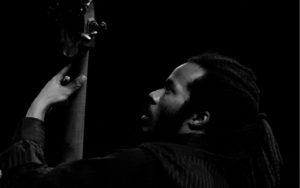 Joe Sanders performs at Earshot Jazz Festival 2017