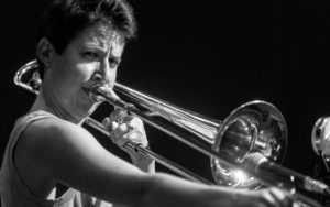 Naomi Moon Siegel performs at the 2017 Earshot Jazz Festival