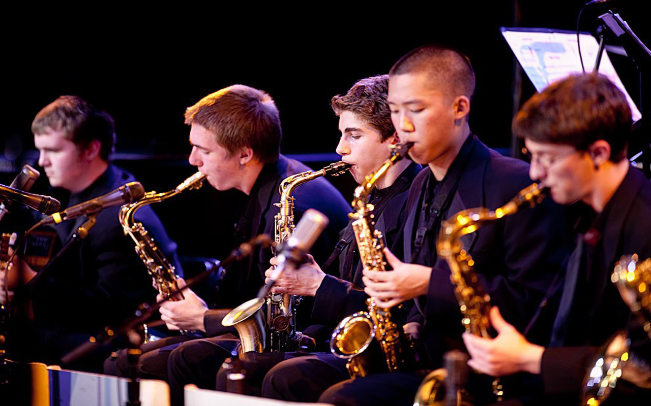 performs at Garfield High School Band 2017 Earshot Jazz Festival
