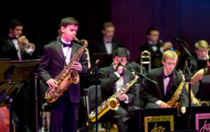 Roosevelt High School performs at the 2017 Earshot Jazz Festival