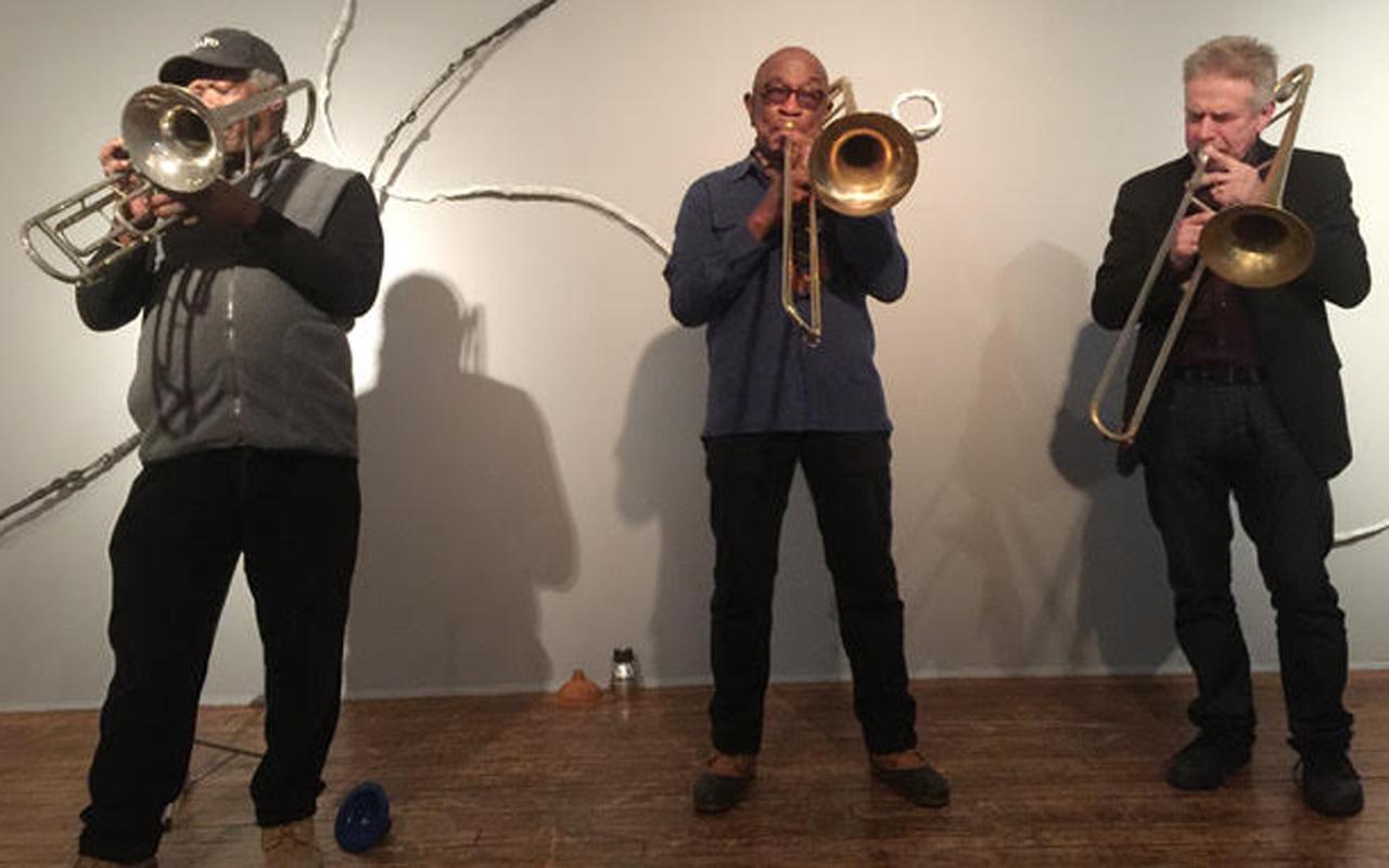 Trombone Insurgency performs at the 2017 Earshot Jazz Festival