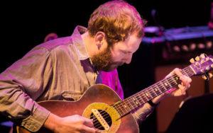 Luke Bergman performs at the 2017 Earshot Jazz Festival