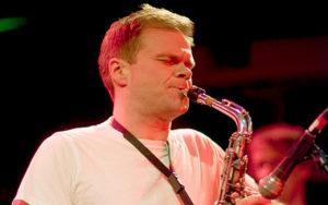 Briggan Kraussperforms at the 2017 Earshot Jazz Festival