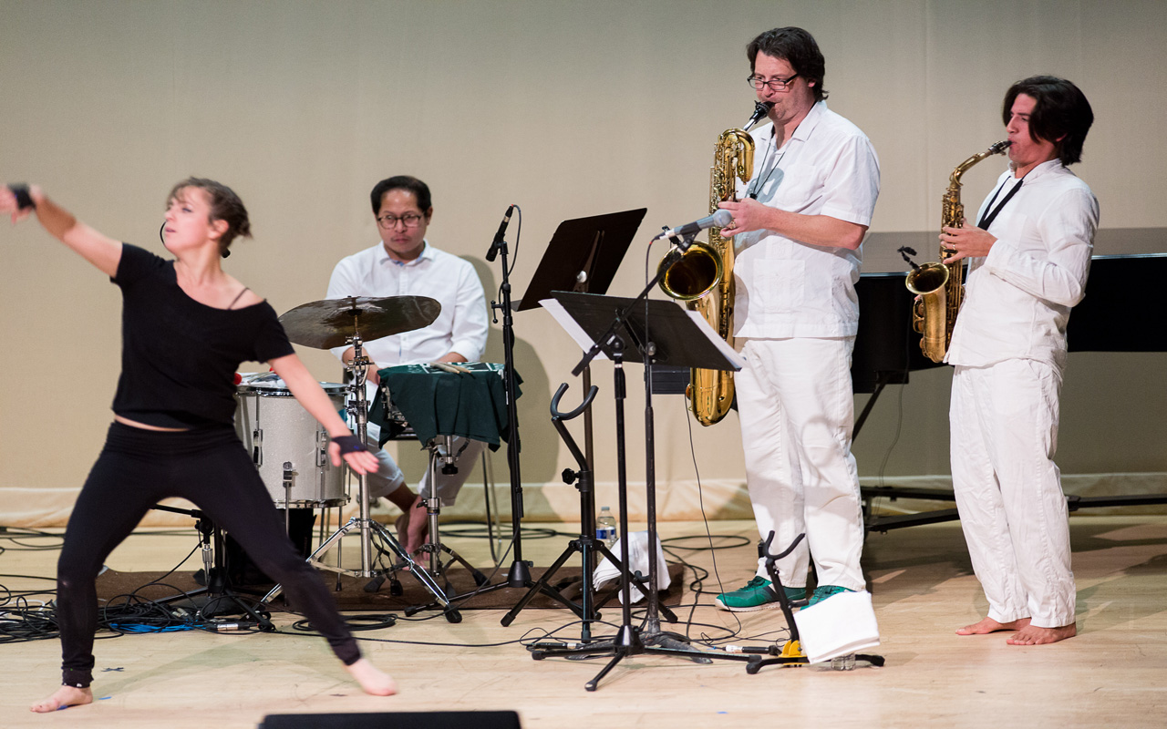 CMD performs at the 2017 Earshot Jazz Festival
