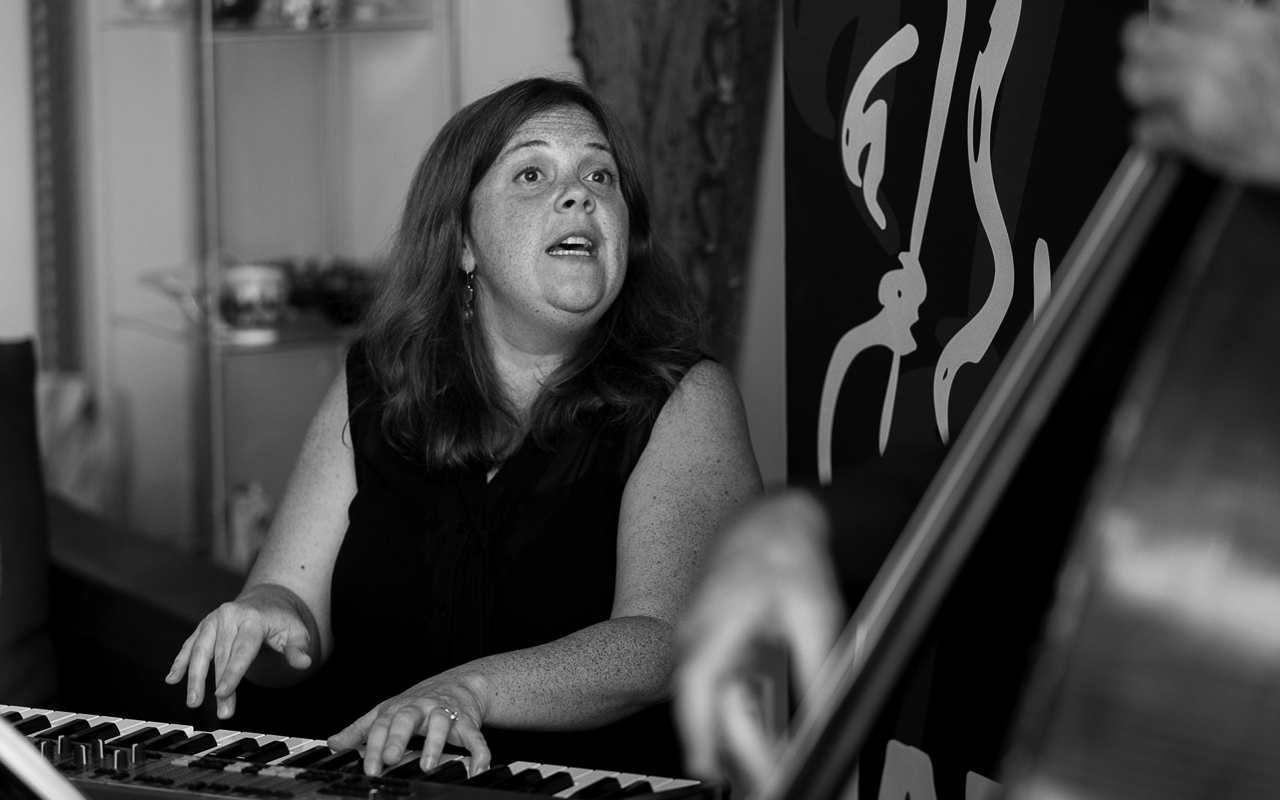 Dawn Clement performs at the 2017 Earshot Jazz Festival