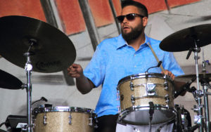 Kassa Overall performs at the 2017 Earshot Jazz Festival