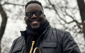 Marquis Hill performs at the 2017 Earshot Jazz Festival