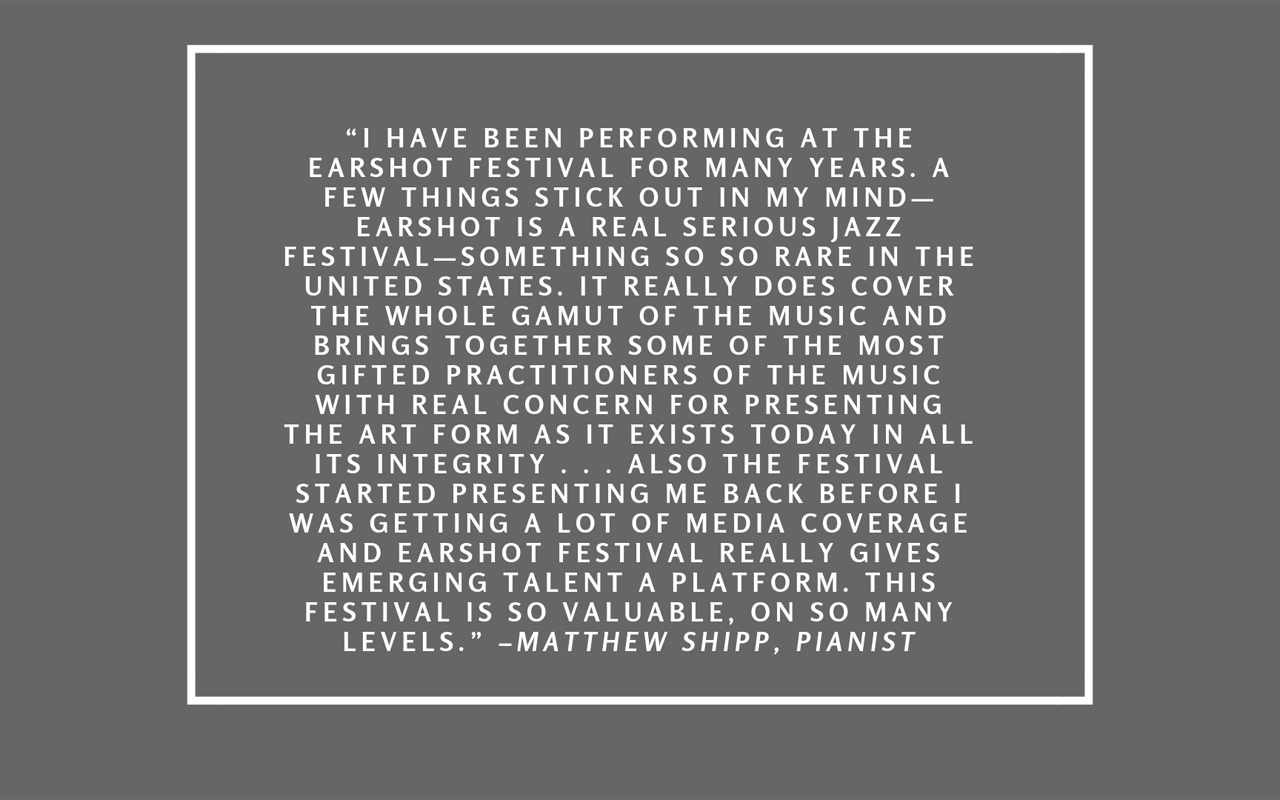 Quote by Matthew Shipp.