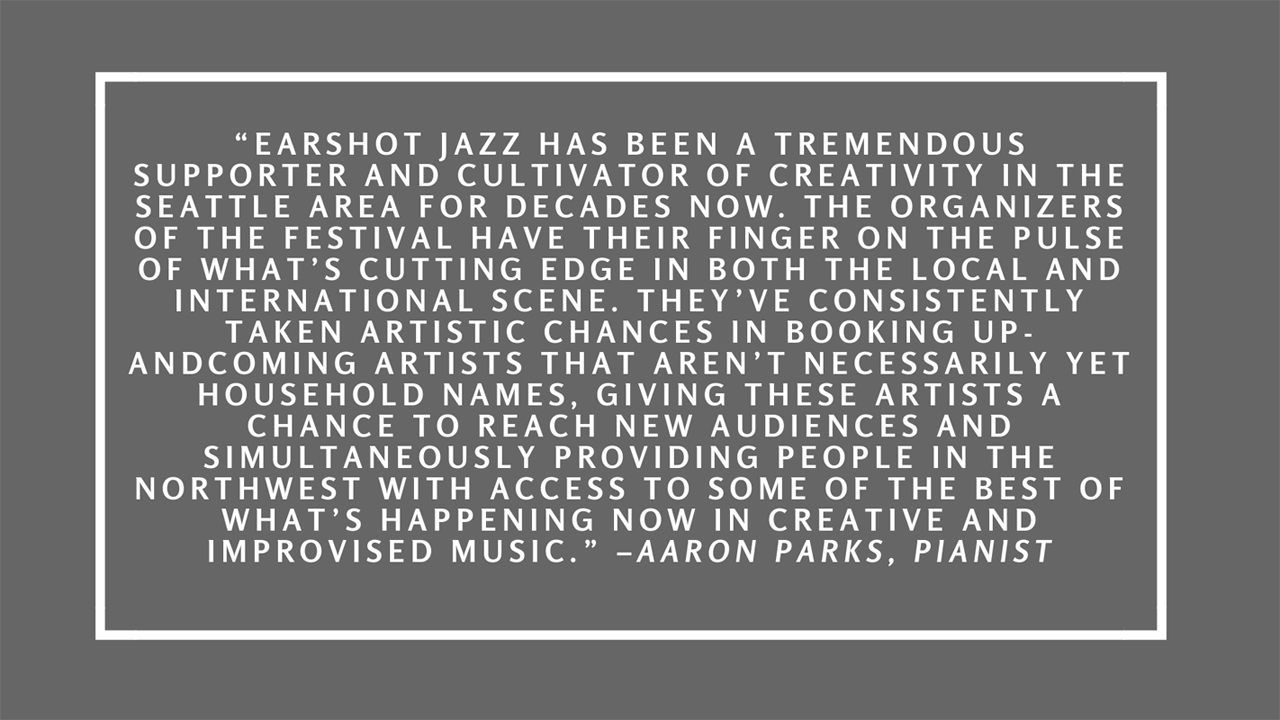 Quote by Aaron Parks.