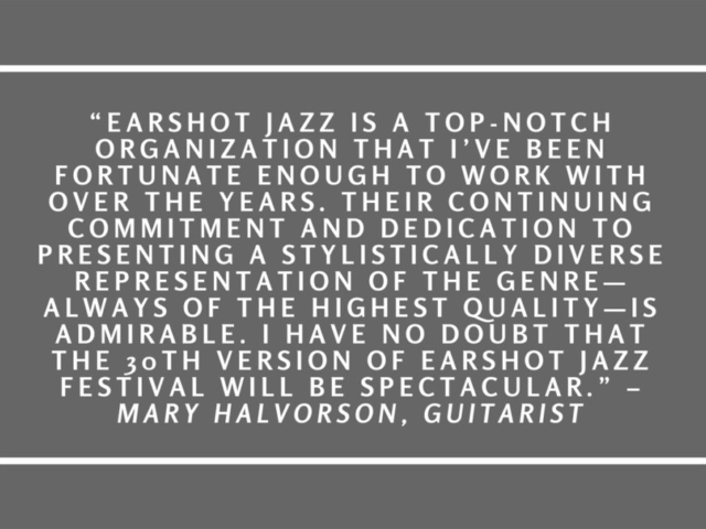 Quote by Mary Halvorson.