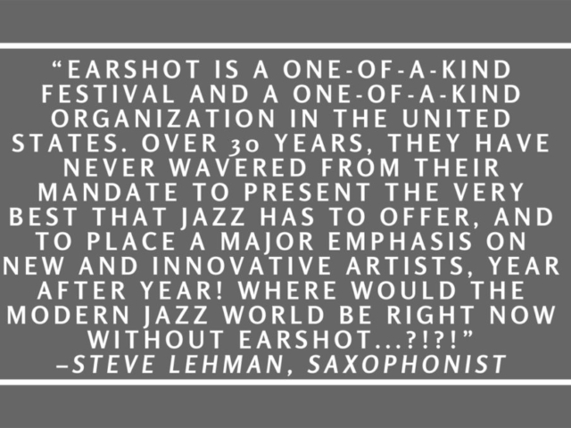 Quote by Steve Lehman.