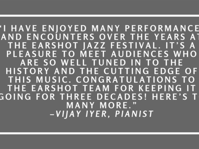 Quote by Vijay Iyer.