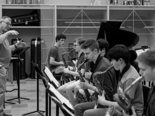 Scott Brown: At the Helm of Roosevelt Jazz