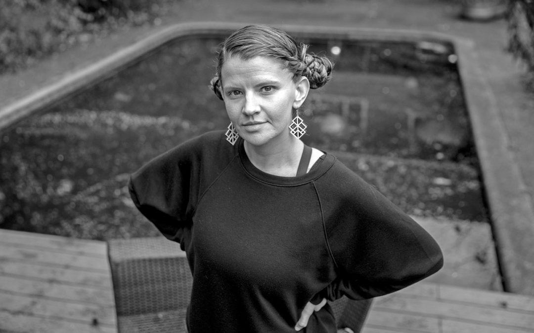 Beth Fleenor standing on deck