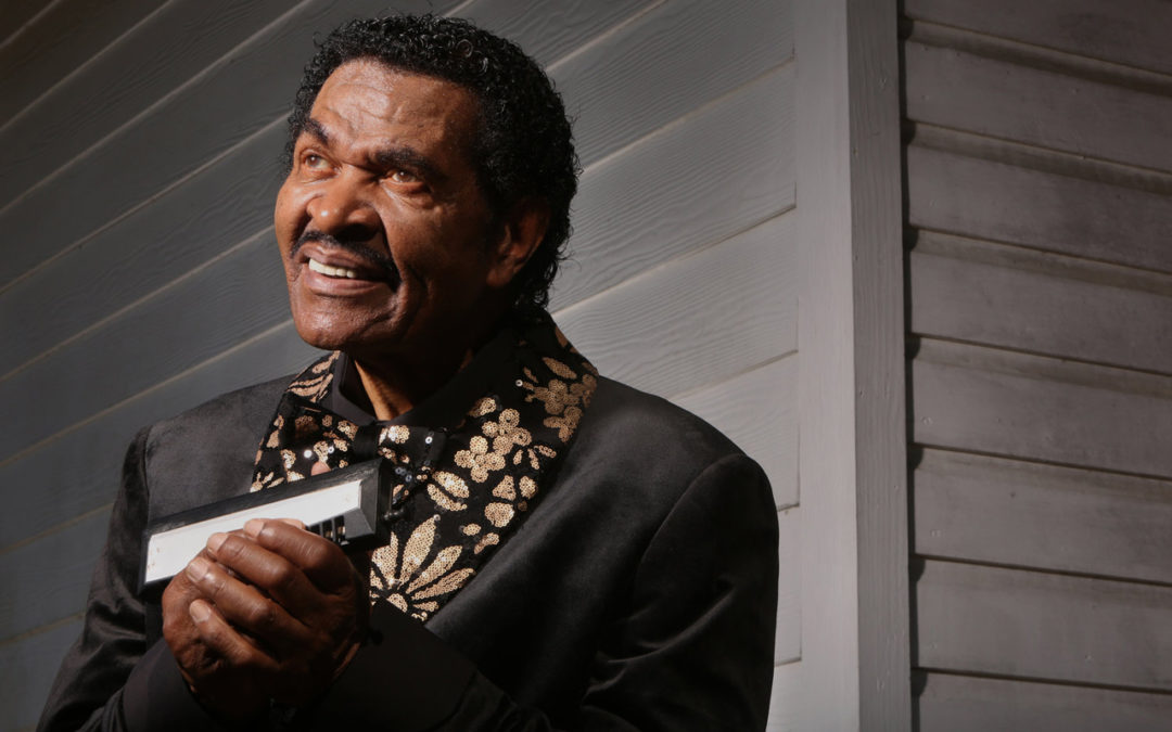 Bobby Rush smiling.