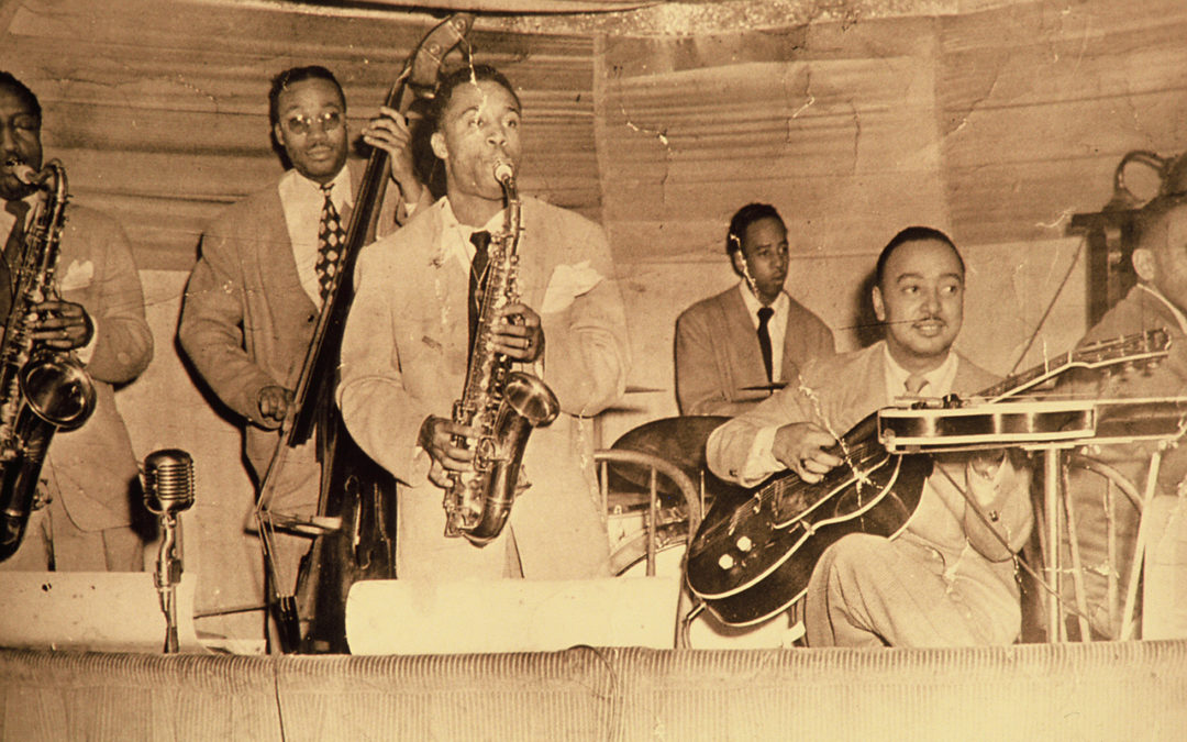 Ernie Lewis Band, Oakland 1944