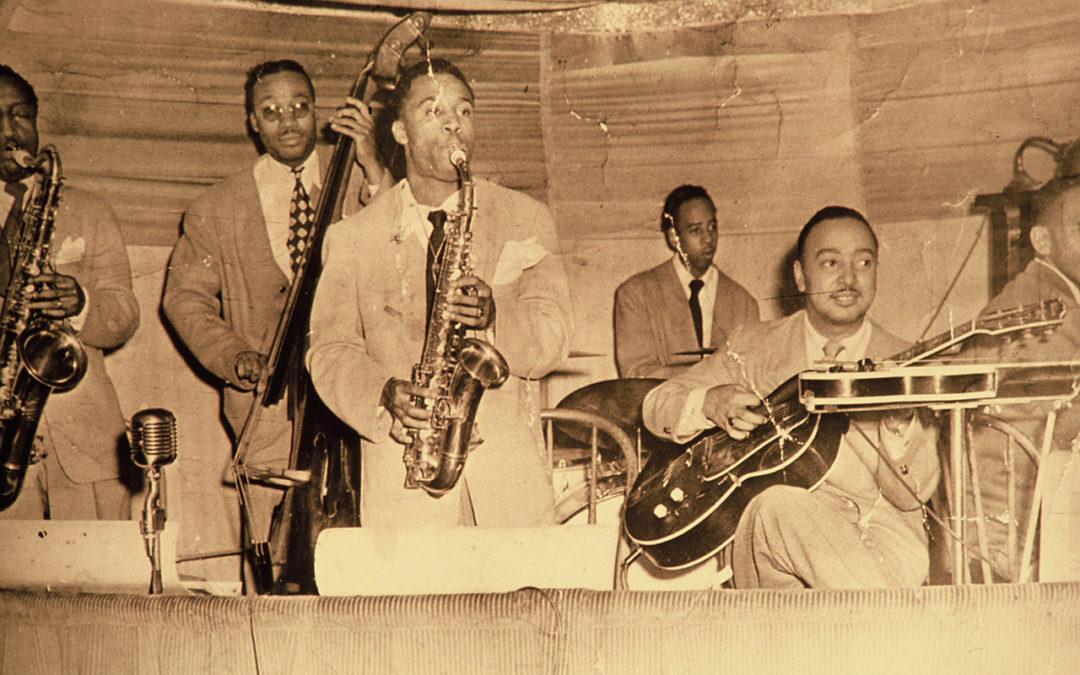 Ernie Lewis Band, Oakland 1944