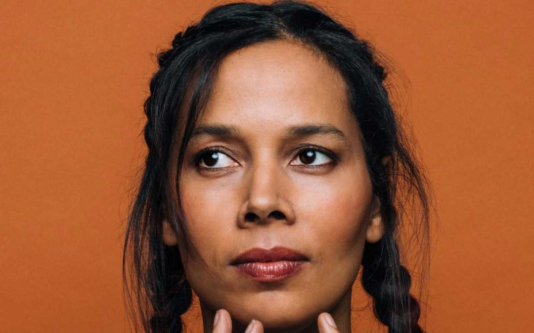 Rhiannon Giddens looking out in the distance